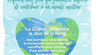Jour de la Terre 2020 – Un rappel de notre engagement