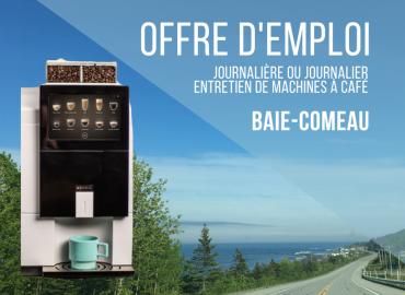 Offre d'emploi – Journalière ou journalier (temps partiel) Baie-Comeau