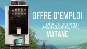 Offre d'emploi Journalière ou de journalier / préposé.e aux machines distributrices à Matane
